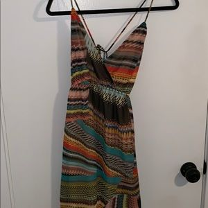 multi color slightly flowy sundress